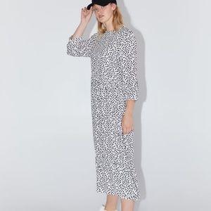 Zara } dotted Instagram famous dress